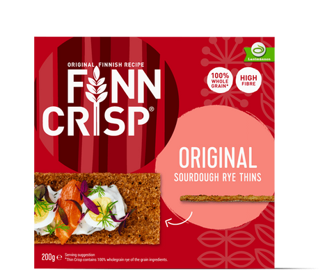 Finn Crisp Original Rye Crisp, 200g - Case of 9