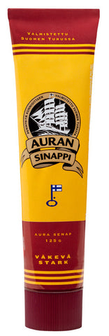 Case of Auran Strong Mustard