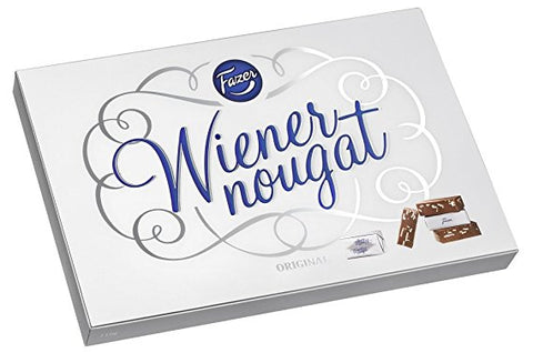 Fazer Wiener Nougat Almond Chocolates, 210g - Case of 13