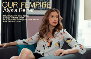 As seen on: Alysia Reiner in Athleisure Magazine