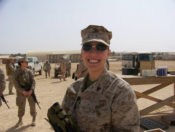 We Are Grateful for Your Service -- Marine Corps Veteran Marcy Rivera