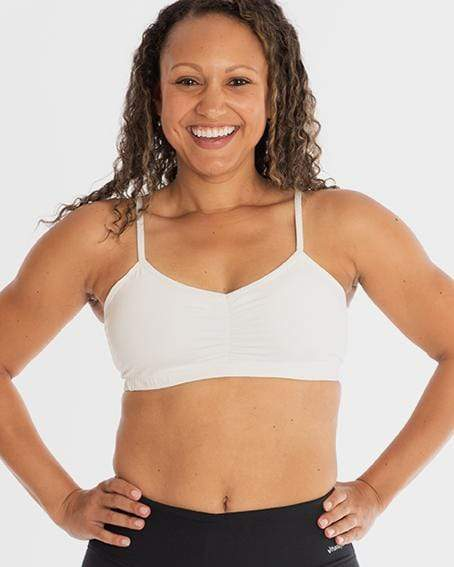 Adjustable Sports Bra – No Headlights White