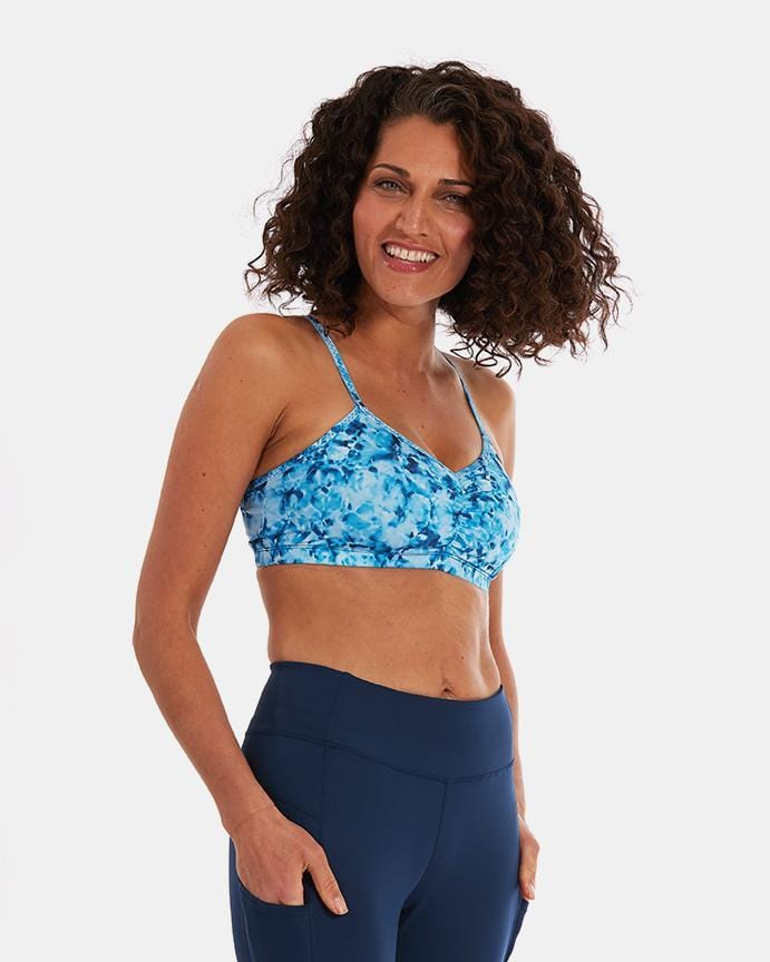 Adjustable Sports Bra – Splash
