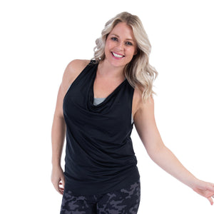 Handful_Flippin Awesome Scoop Tank_Booya Black_Versatile_Reversible_Travel Ready