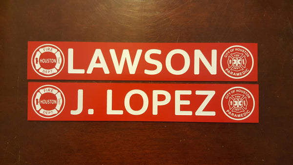Gear Locker Nameplates