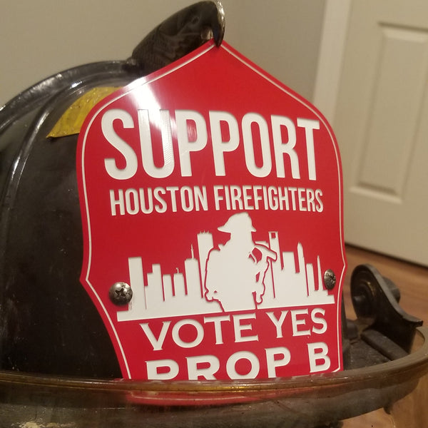 Helmet Shield - Support Prop B