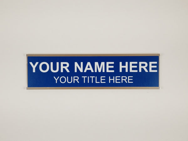 Desk or Door Nameplate