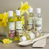 Premium Moisturizing Oil Collection - Coconut Oil, Castor Oil, Grapeseed Oil, Avocado Oil, & Sweet Almond Oil 4oz Each 5-Pack Gift Set