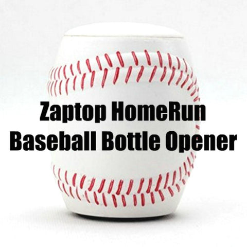 Zaptop HomeRun Baseball Bottle Opener - Automatic Beer Opener - White, Zaptop, Bottle Opener, Brandlet