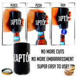 Zaptop Automatic Bottle Opener, Zaptop, Bottle Opener, Brandlet