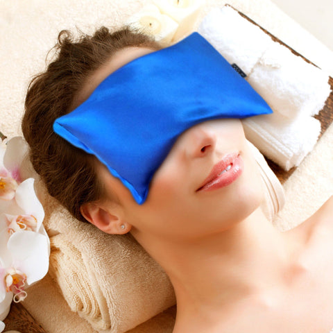 Karmick Hot Cold Eye Mask- Lavender Scented Eye Pillow - Blue, Karmick, Eye Mask, Brandlet