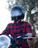 Red Buffalo Kevlar Motorcycle Flannel