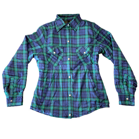 Tartan Protective Motorcycle Flannel
