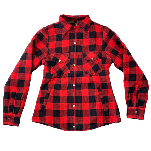 Red Buffalo Protective Motorcycle Flannel