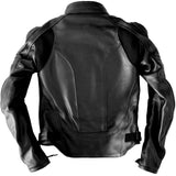 Women's Custom Black Leather Motorcycle Jacket