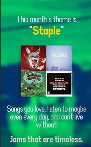 HOT TRACKS: APRIL STAPLES🎶