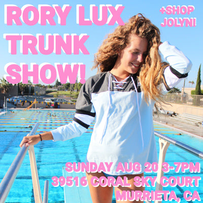 Trunk Show in Temecula, CA this Sunday (8/20)!
