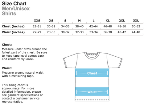 Men's Shirt Sizing