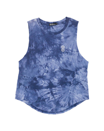 Pineapple Water Polo Tie Dye Muscle Tank