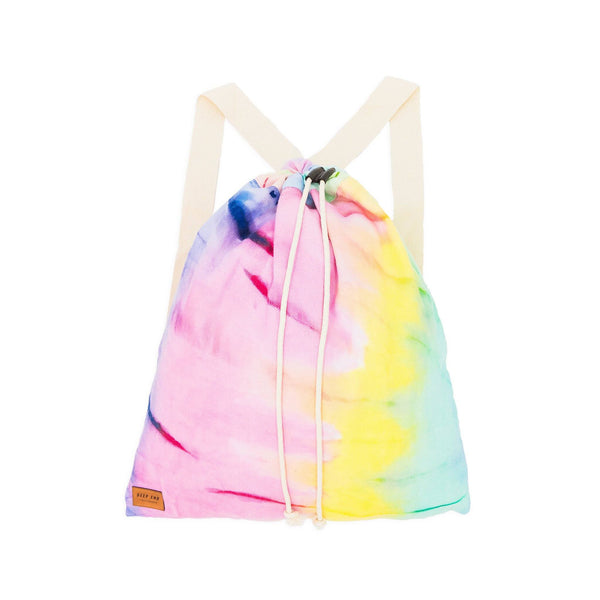 Pastel Rainbow Turkish Towel Bag