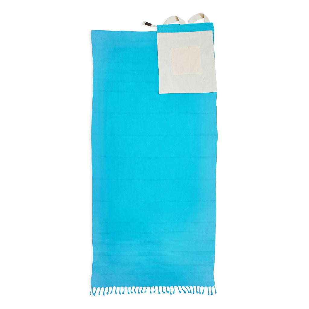 Stonewash Convertible Turkish Towel Bag - Rory Lux Apparel