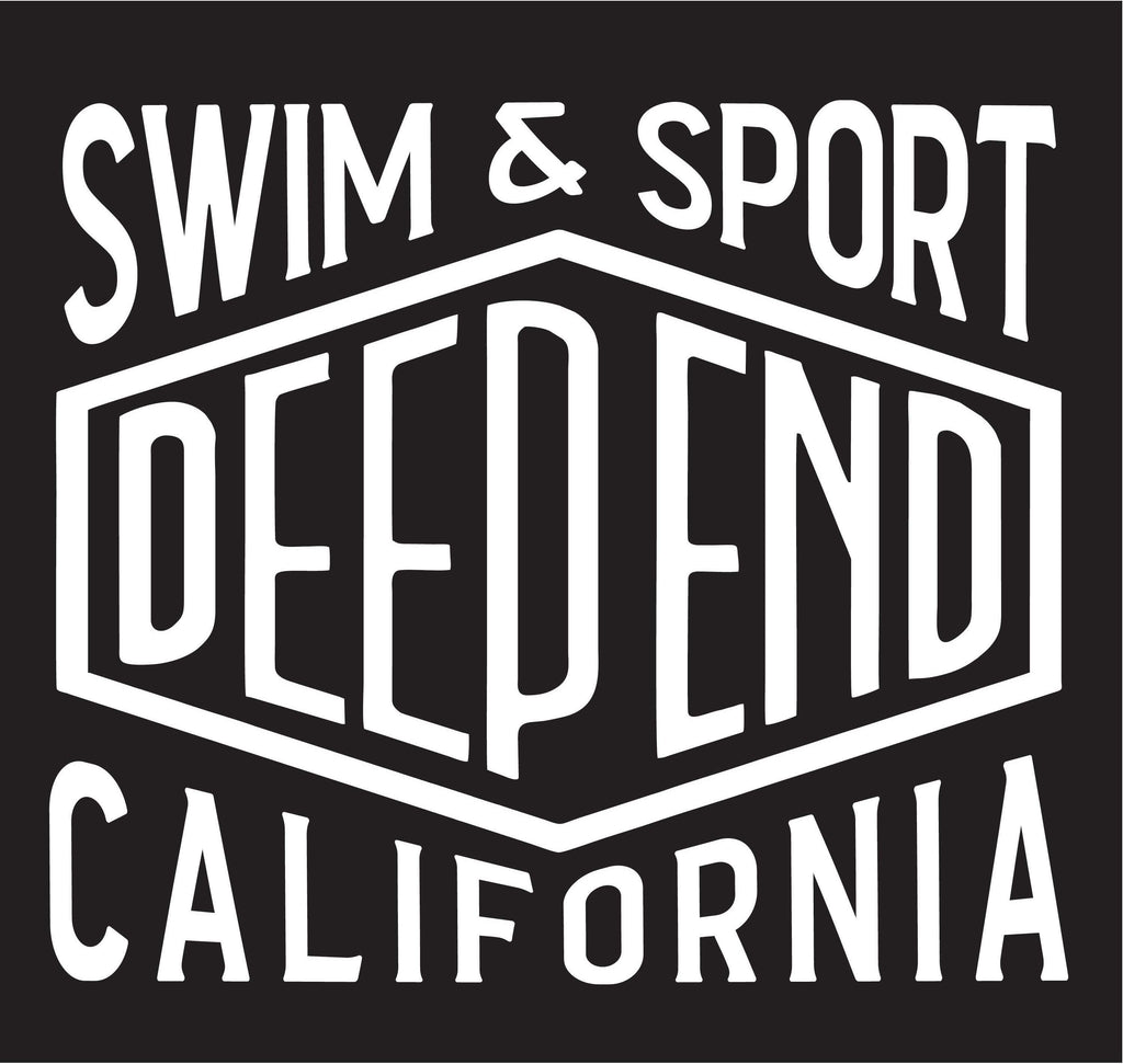 Deep End Insert Sticker - Rory Lux Apparel