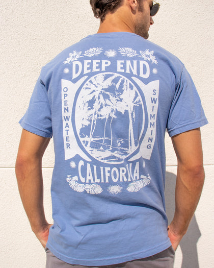 California Open Water Swimming Vintage Tee