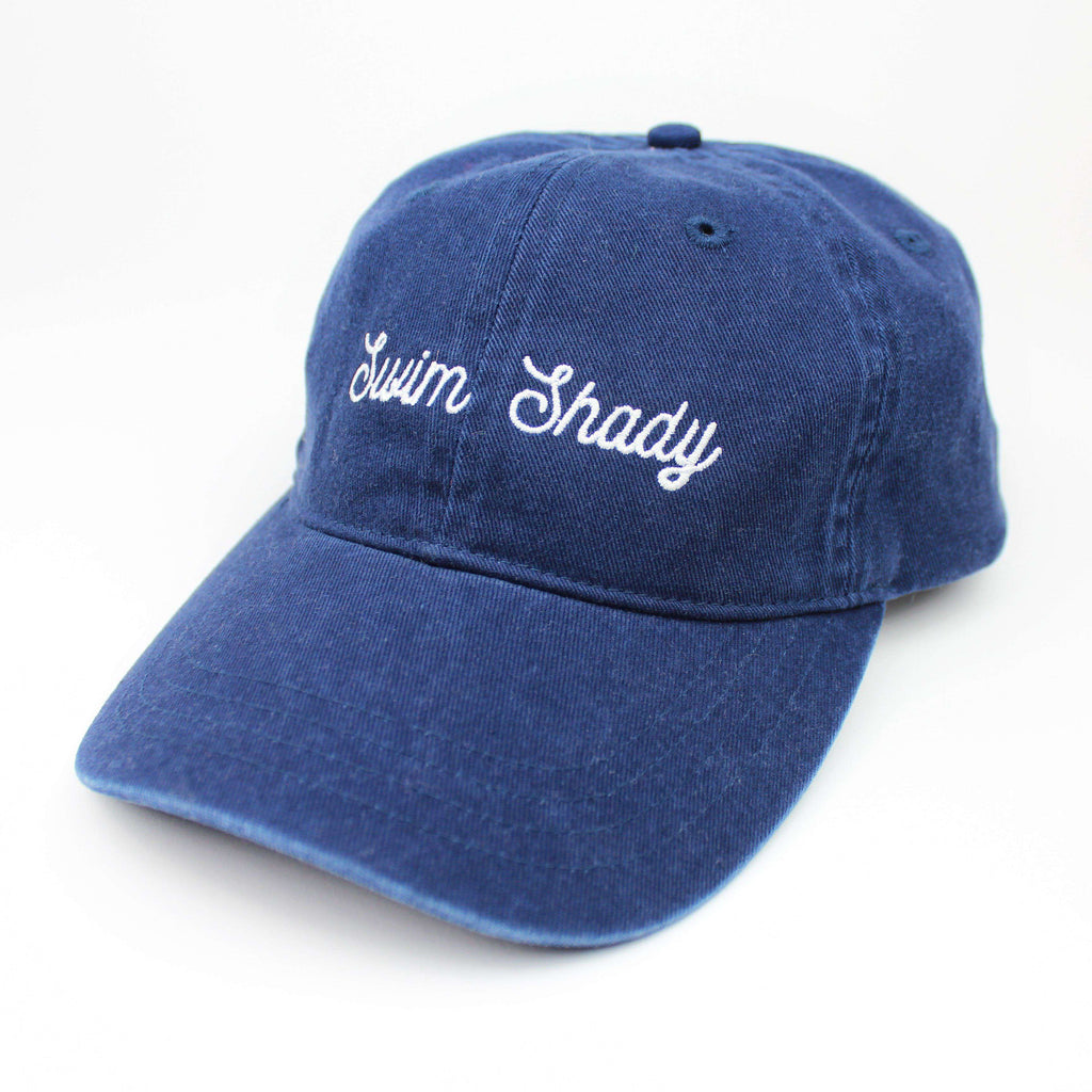 Swim Shady Dad Hat - Vintage Wash Navy - Rory Lux Apparel