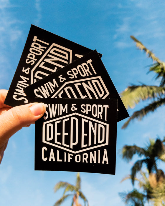 Free Deep End Sticker