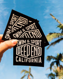 Free Deep End Swim Sticker