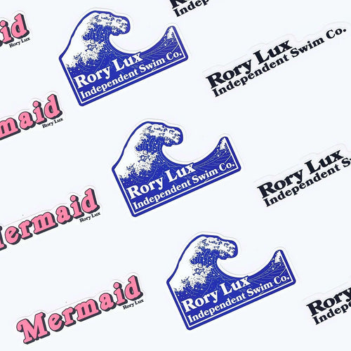 RORY LUX Stickers (Set of 5) - Rory Lux Apparel