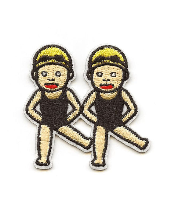 Twin Swimmers Emoji Patch