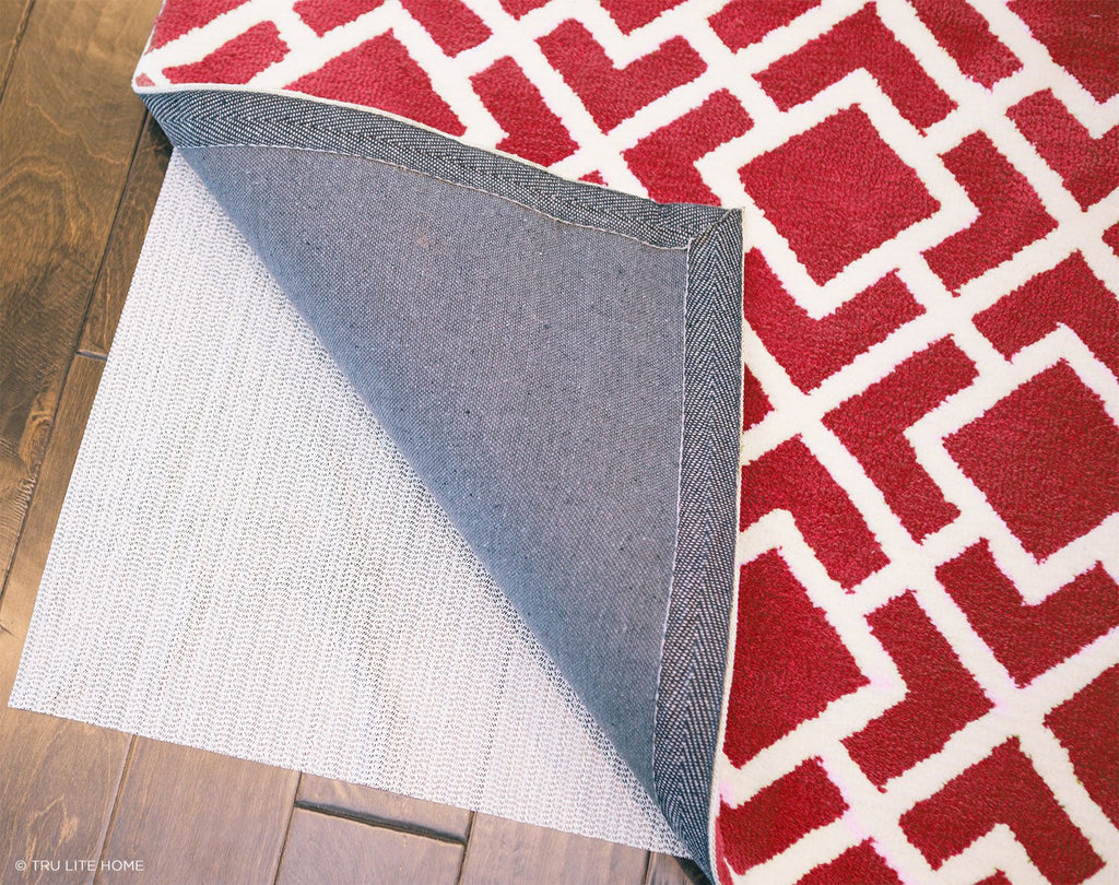 Non-Slip Mat for Area Rugs - Indoor Rug Gripper - Non-Skid Washable Area Rug Pad - Use on all Floors to Prevent Injury - Hold Rugs, Mats, Carpets, Furniture in Place - Trim to fit any Size