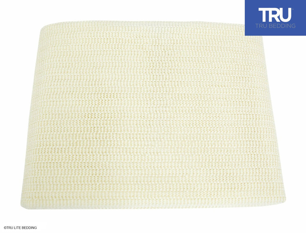 TRU Lite Bedding Non Slip Mattress Grip Pad - Keeps All Mattress Types In Place For a Great Night's Sleep - Ideal For Platform Bed or Futon - Easy and Simple Fit - Rug Pad