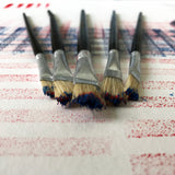Economy Acrylic Tip Artist Brushes Set