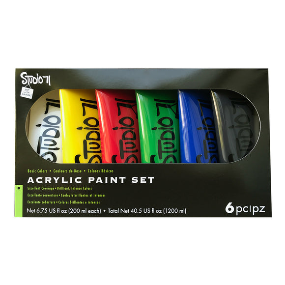 6-Piece Acrylic Paint Set - Studio 71