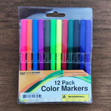 12-Piece Color Marker Set