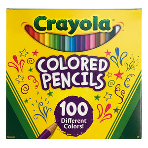 Crayola Adult Coloring 100-Pack Colored Pencils