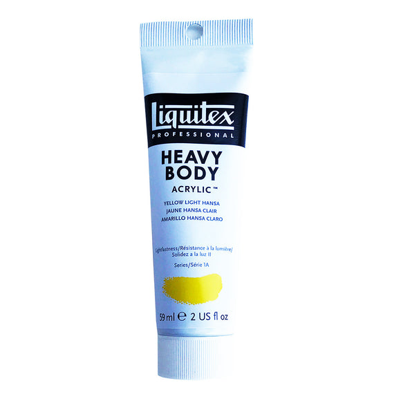 Liquitex Acrylic Paint, Heavy Body, Yellow Light Hansa, 2 oz Tube