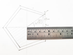 Premium Stainless Steel 12-Inch Ruler