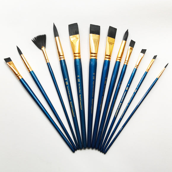 Royal Brush Value Pack Economy Set Pack of 12