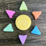 Sunshine-Shaped Pastel Chalk Set