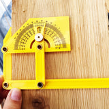 Yellow Angle Finder Multi-Protractor