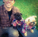 Miyow & Barkley The Russ, Cotton Flannel with belt