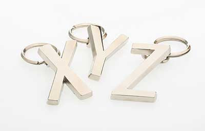 Fuzzyard Alphabet Jewellery Pet Tags - Smitten Pets - 1