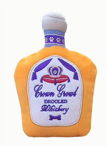 Crown Growl Whiskey Dog Toy