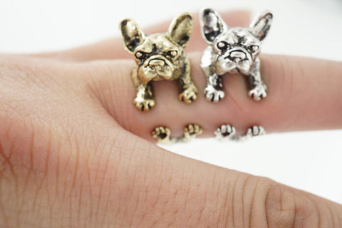 *NEW* French Bulldog Hug Ring - Smitten Pets - 1