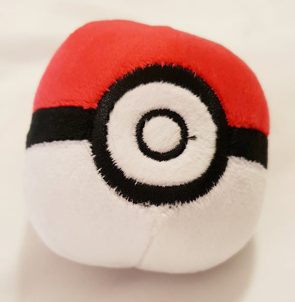 Pokemon Soft Plush Poke Ball
