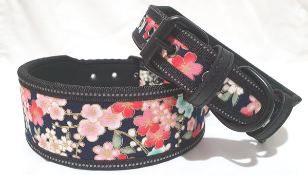 Floral Artist design Dog Collar