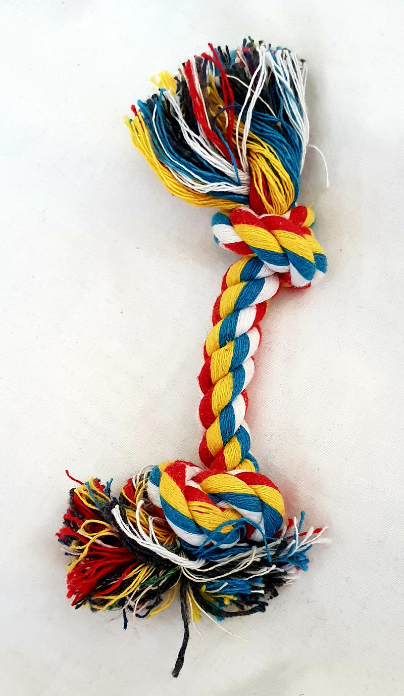 Braided Linen Chew Rope - small